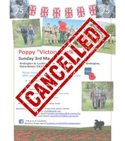 oppy Victory Walk Poster CANCELLED